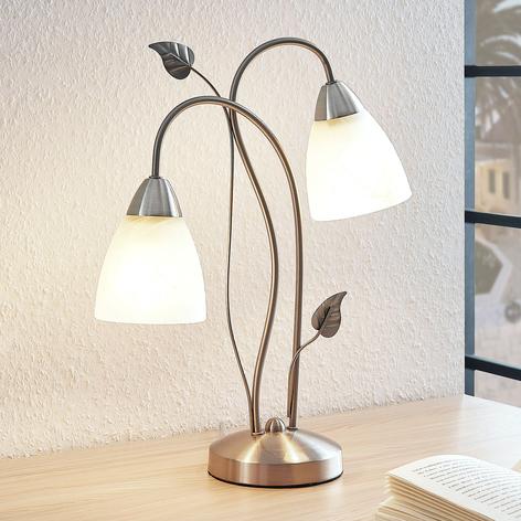 Lindby Yannie lámpara de mesa LED, 2 luces