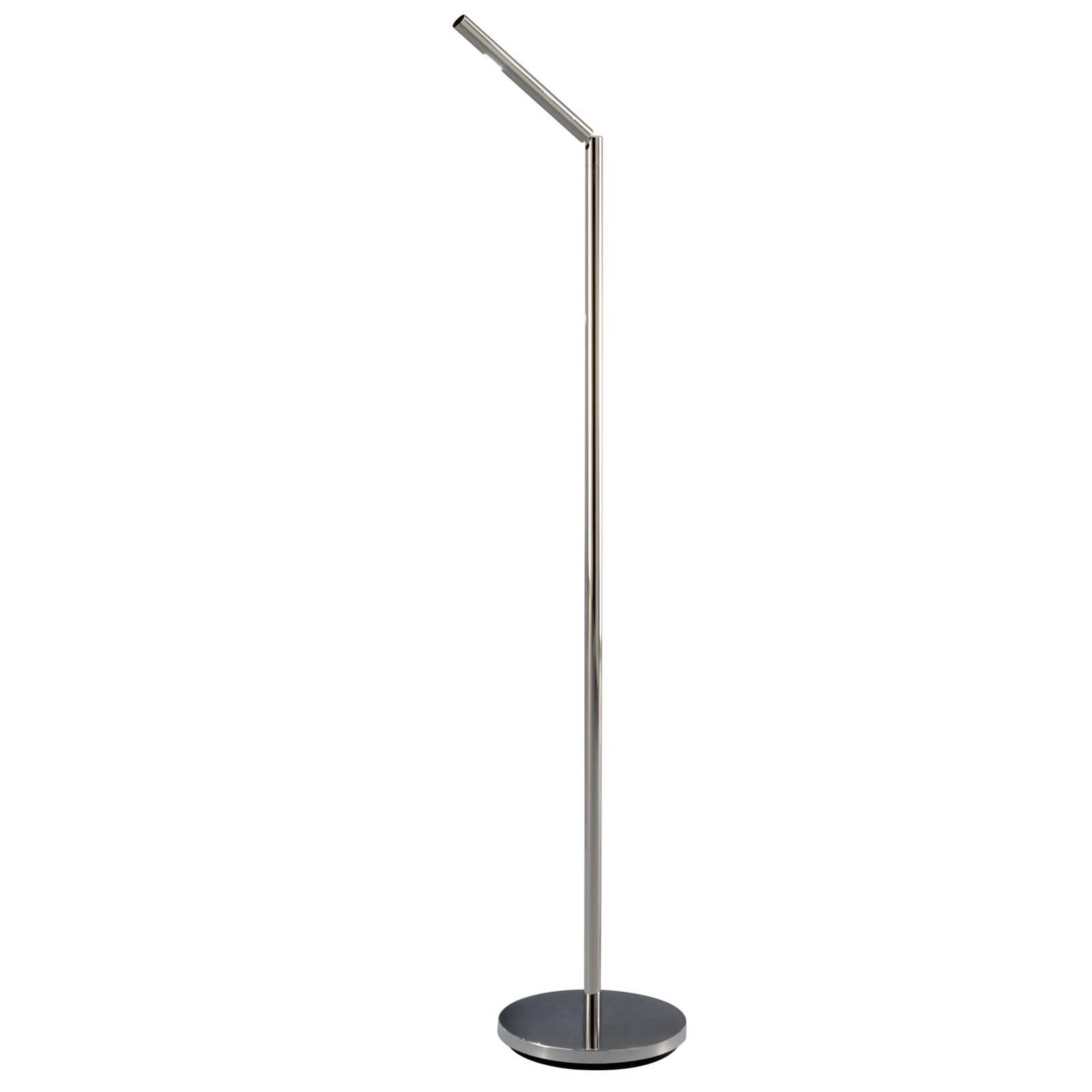 Baulmann 24.154 LED-Stehleuchte, nickel, drehbar