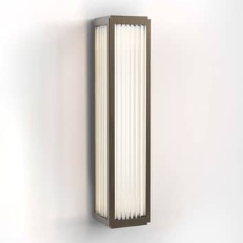 Astro Boston 370 LED-vegglampe til bad, bronse
