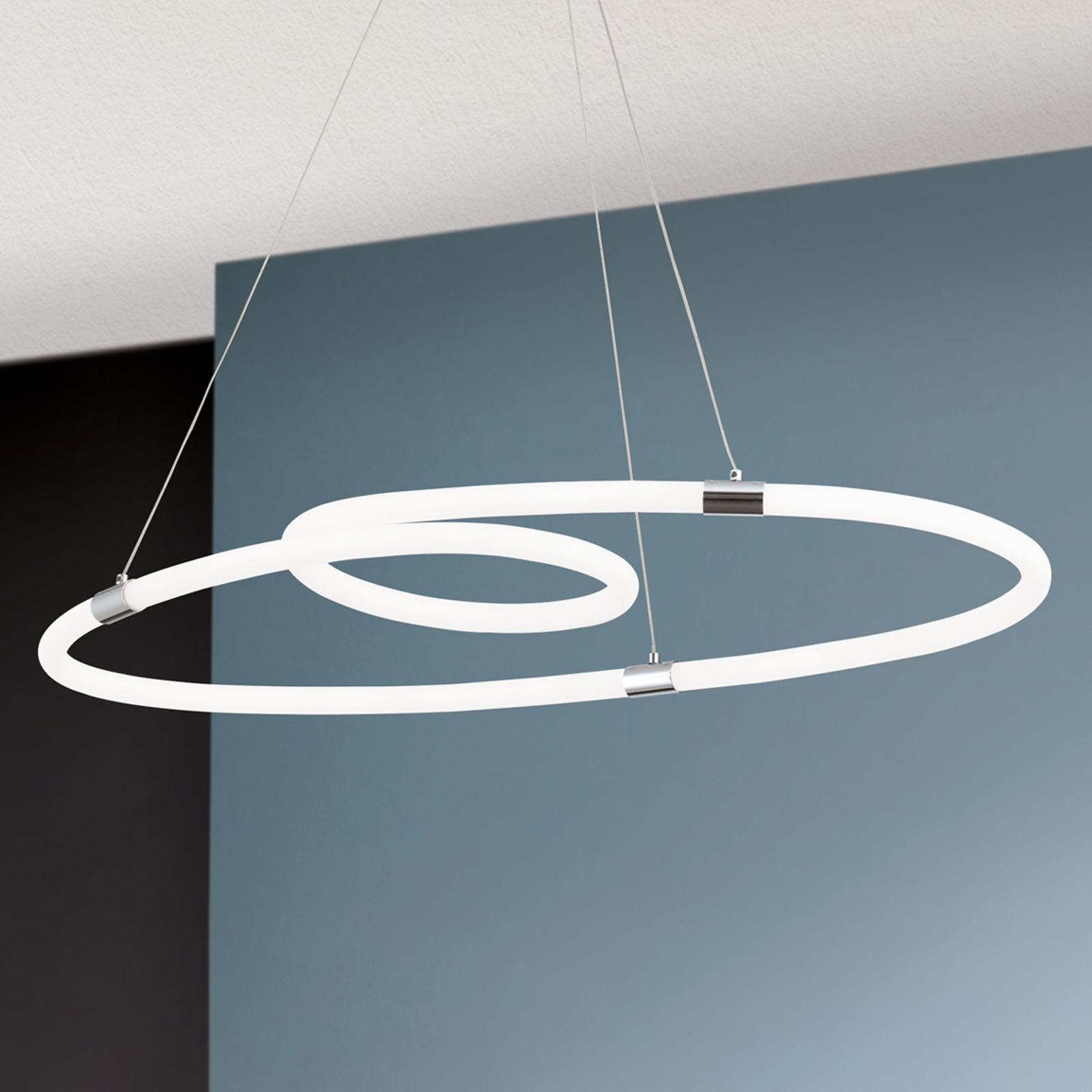 Lampa wisząca LED Karlsson, ściemniana