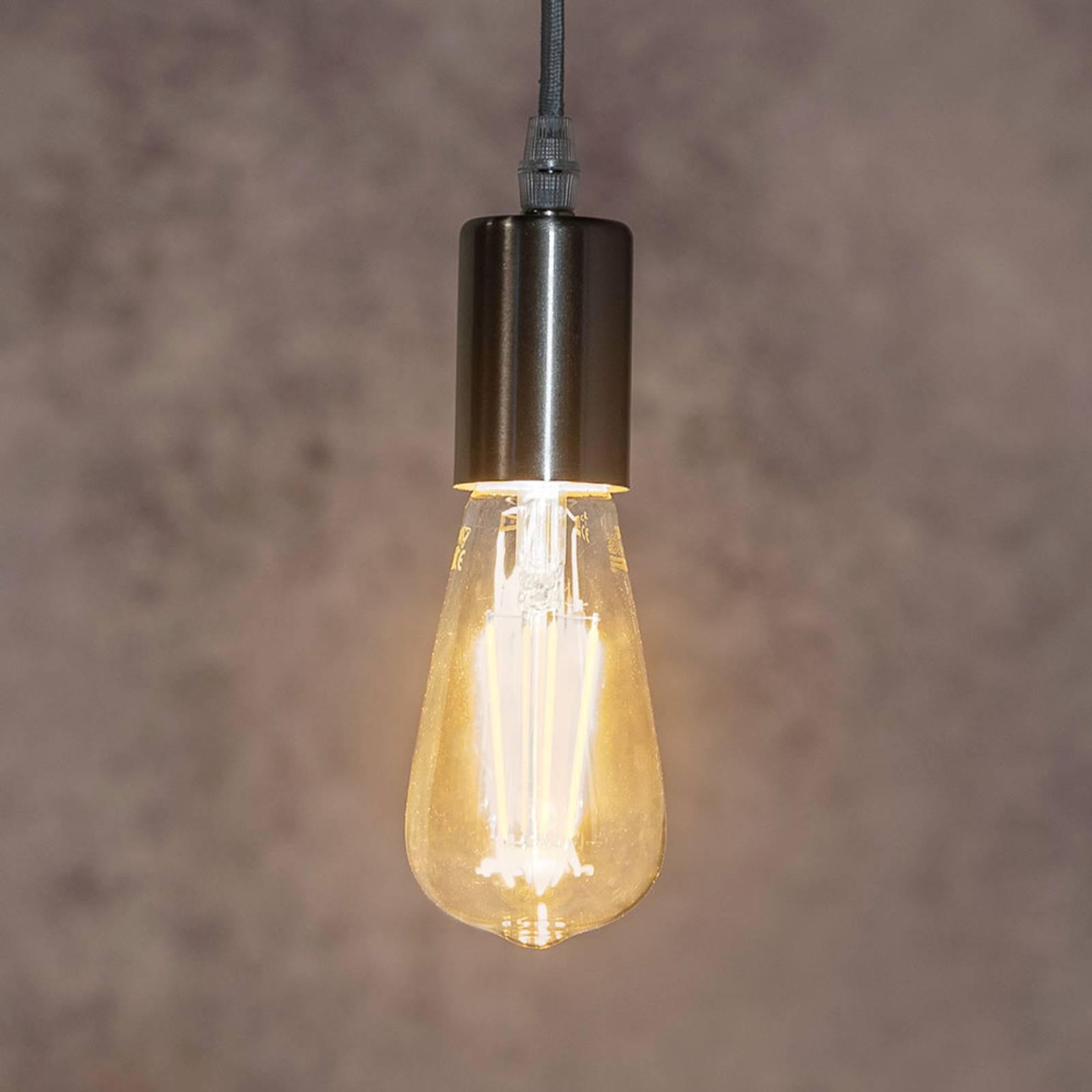 Cavo grigio - lampada a sospensione Haiko