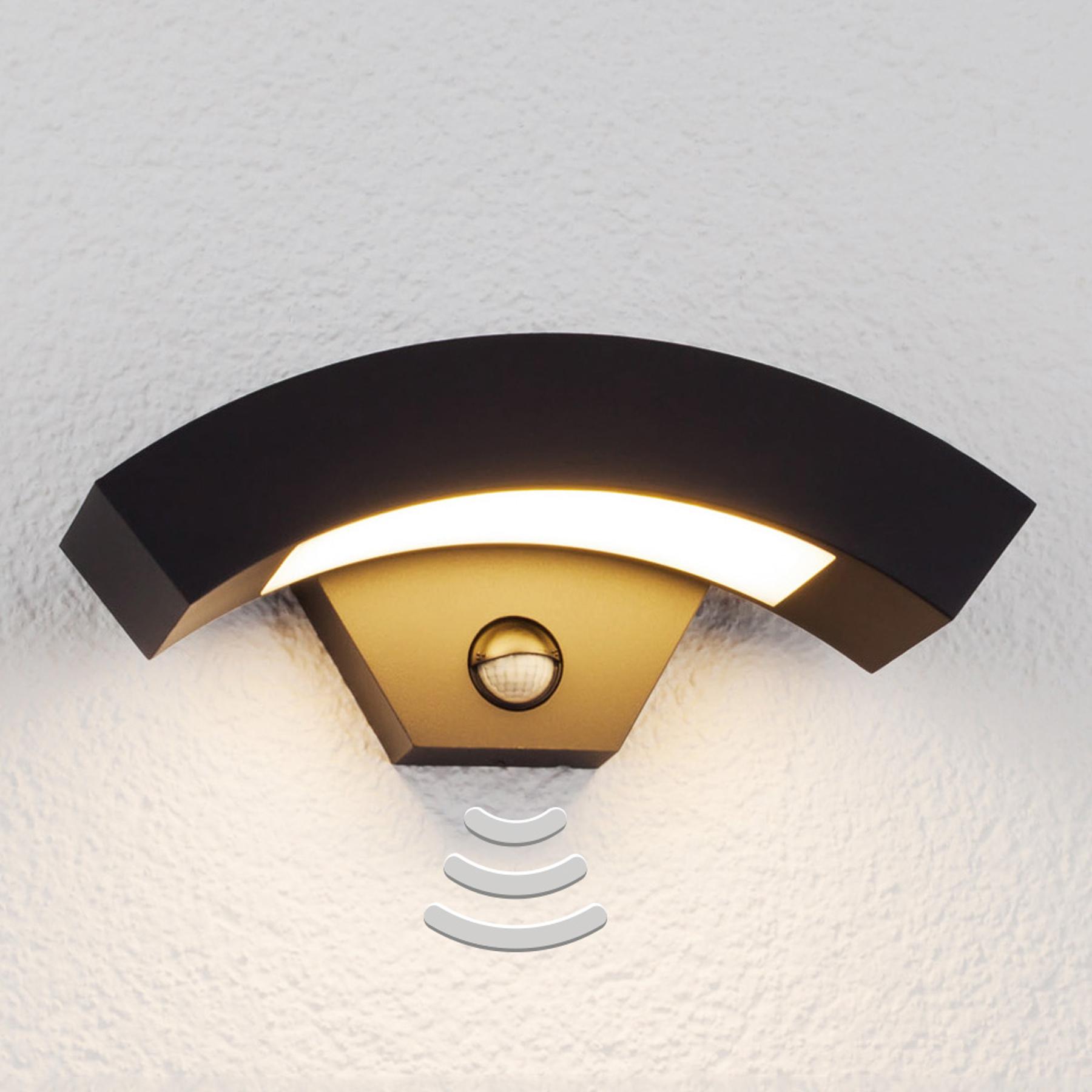 Lennik - LED-buitenwandlamp met bewegingssensor