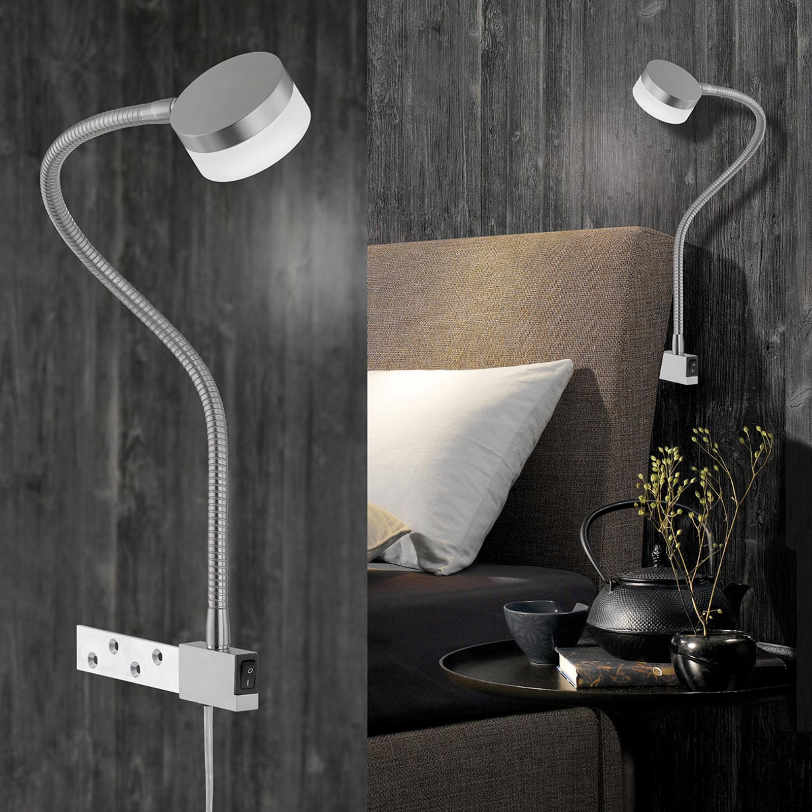 Verstellbare LED-Klemmleuchte Lug