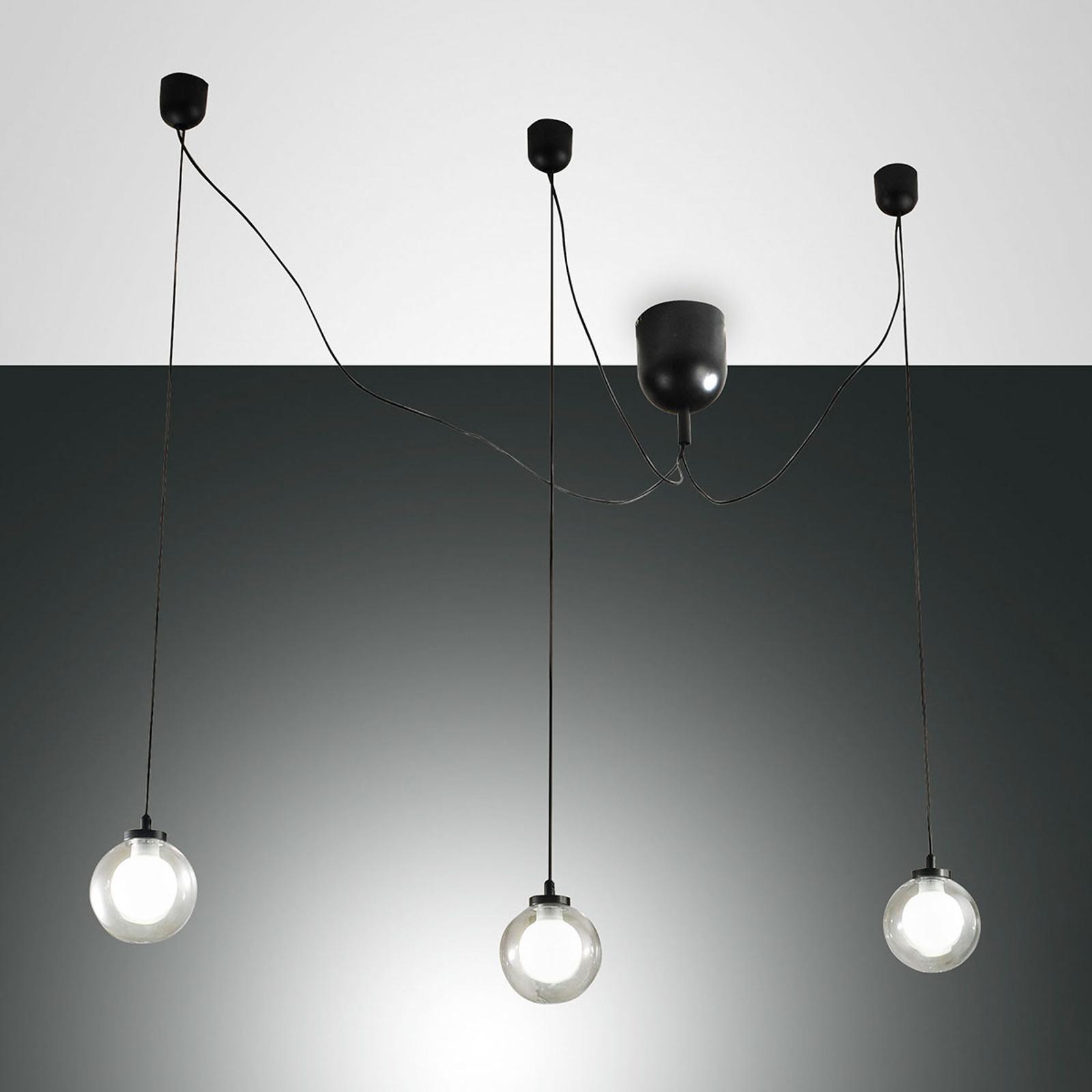 Acquista Lampada LED a sospensione Blog, 3 luci