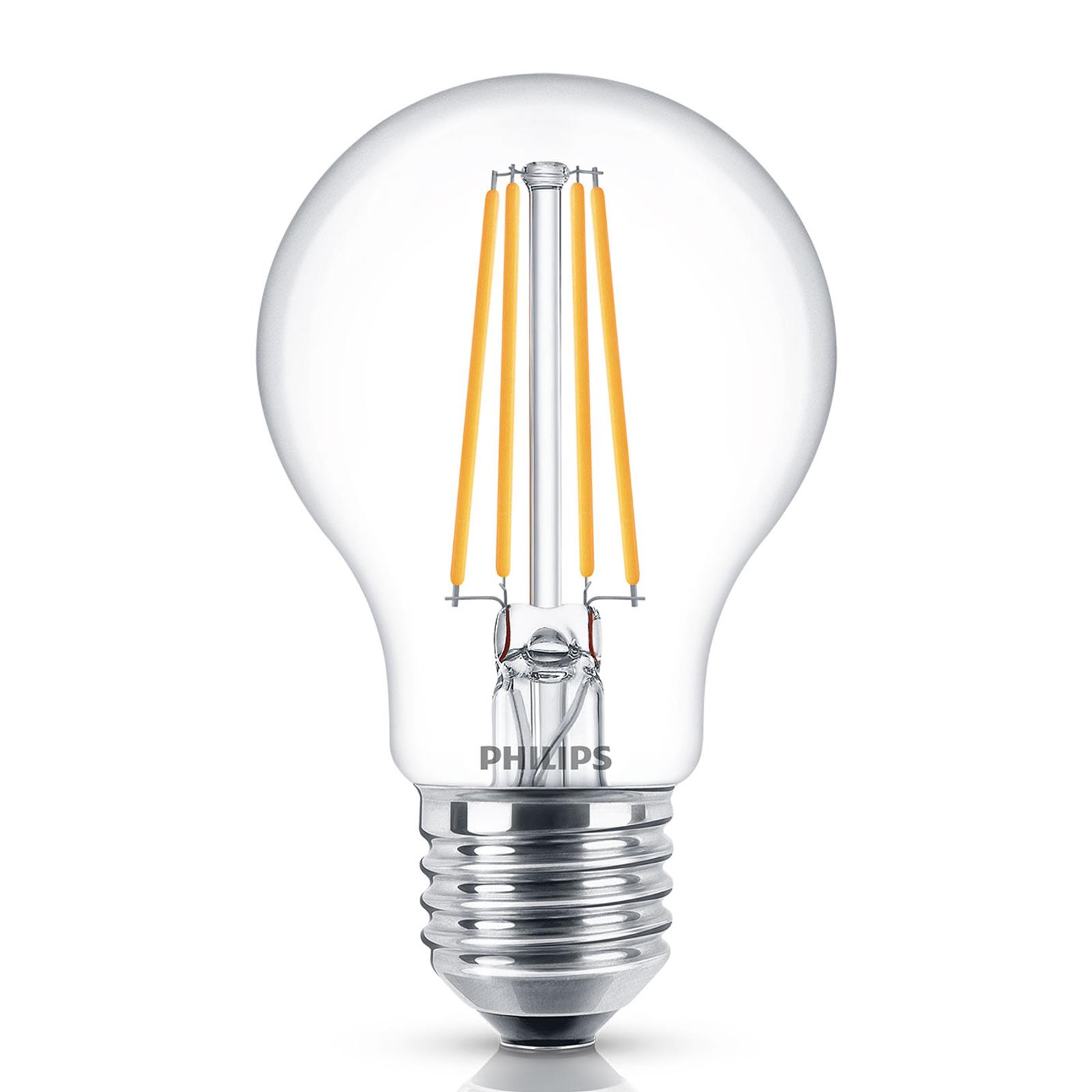 Philips Classic żarówka LED E27 A60 7W 4000K