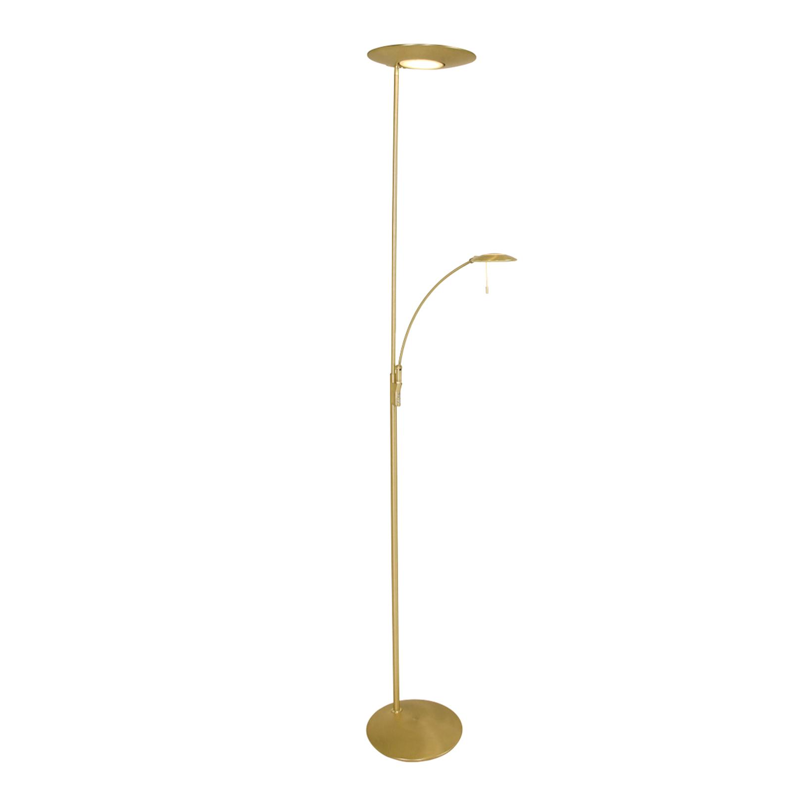 Mit Dimmer u. Leselicht - LED-Stehlampe Zenith