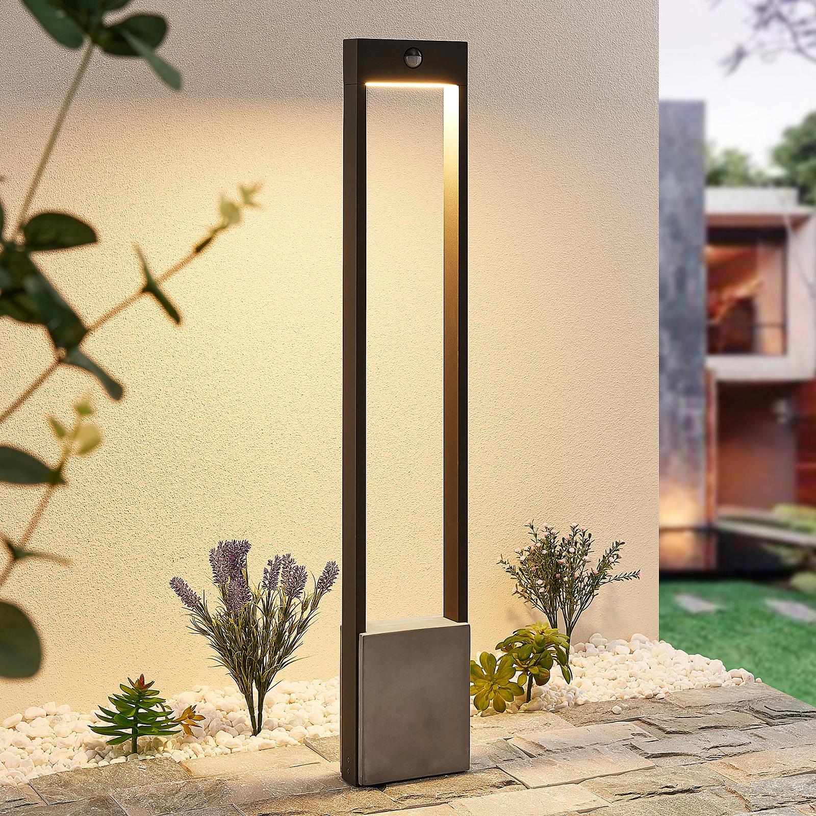 Lucande Tekiro słupek ogrodowy LED, 100 cm