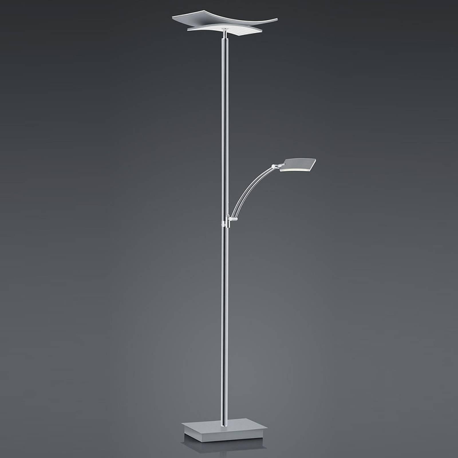 B-Leuchten Liberty lampa stojąca LED ramię nikiel