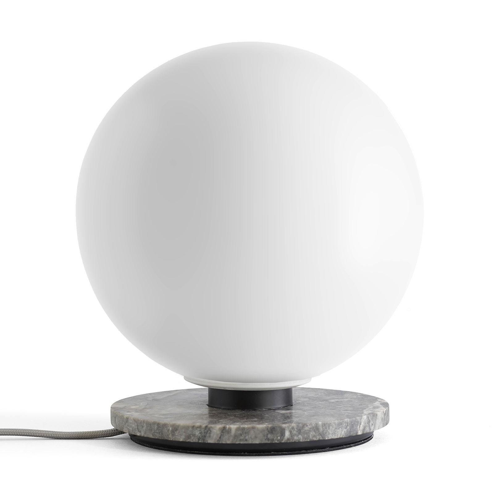 Menu TR Bulb Tischlampe 22cm Marmor/opal matt