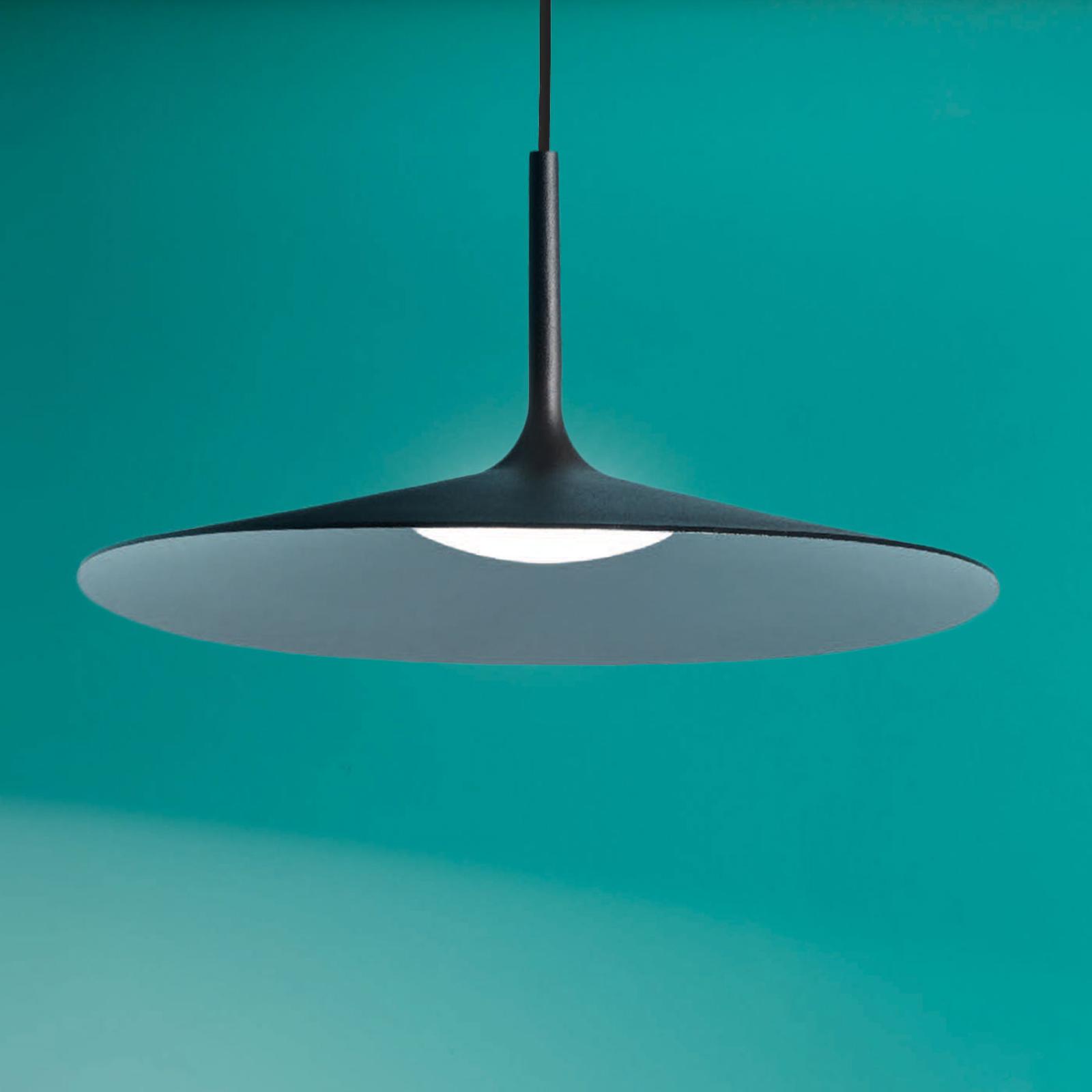 Lampa wisząca LED Poe Plus, czarna