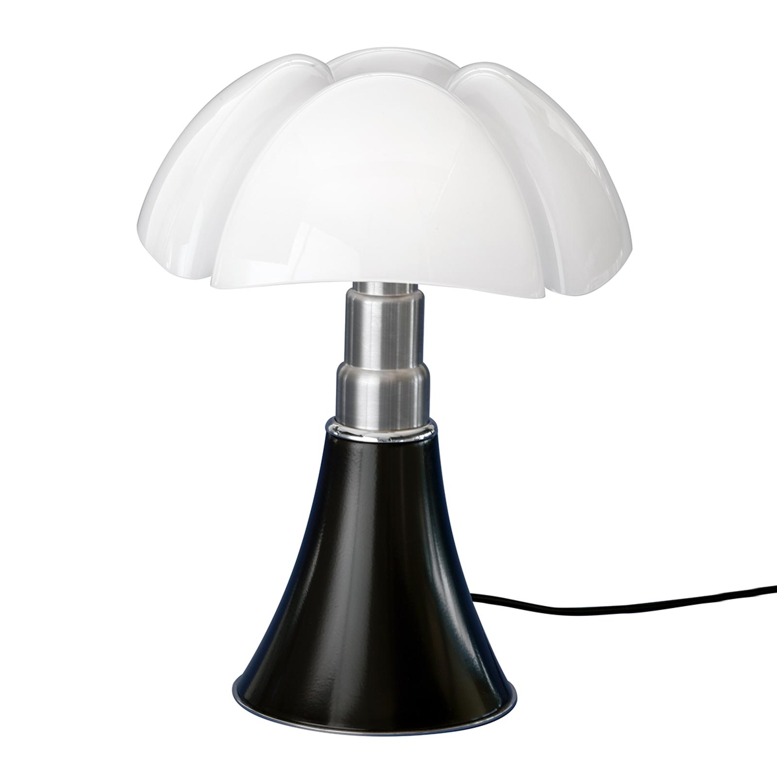 Lampe à poser à hauteur réglable PIPISTRELLO noir