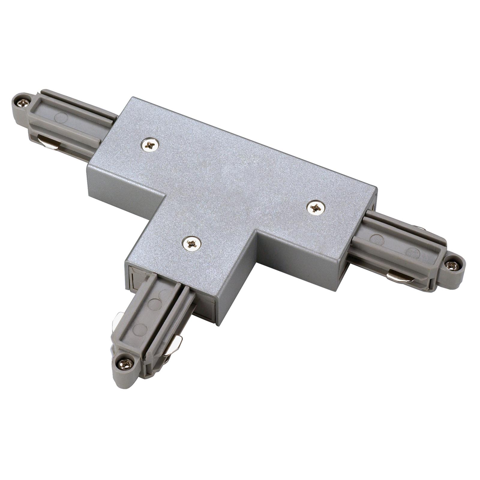 SLV T-kontakt 1-fase HV-skinne venstre, sølv