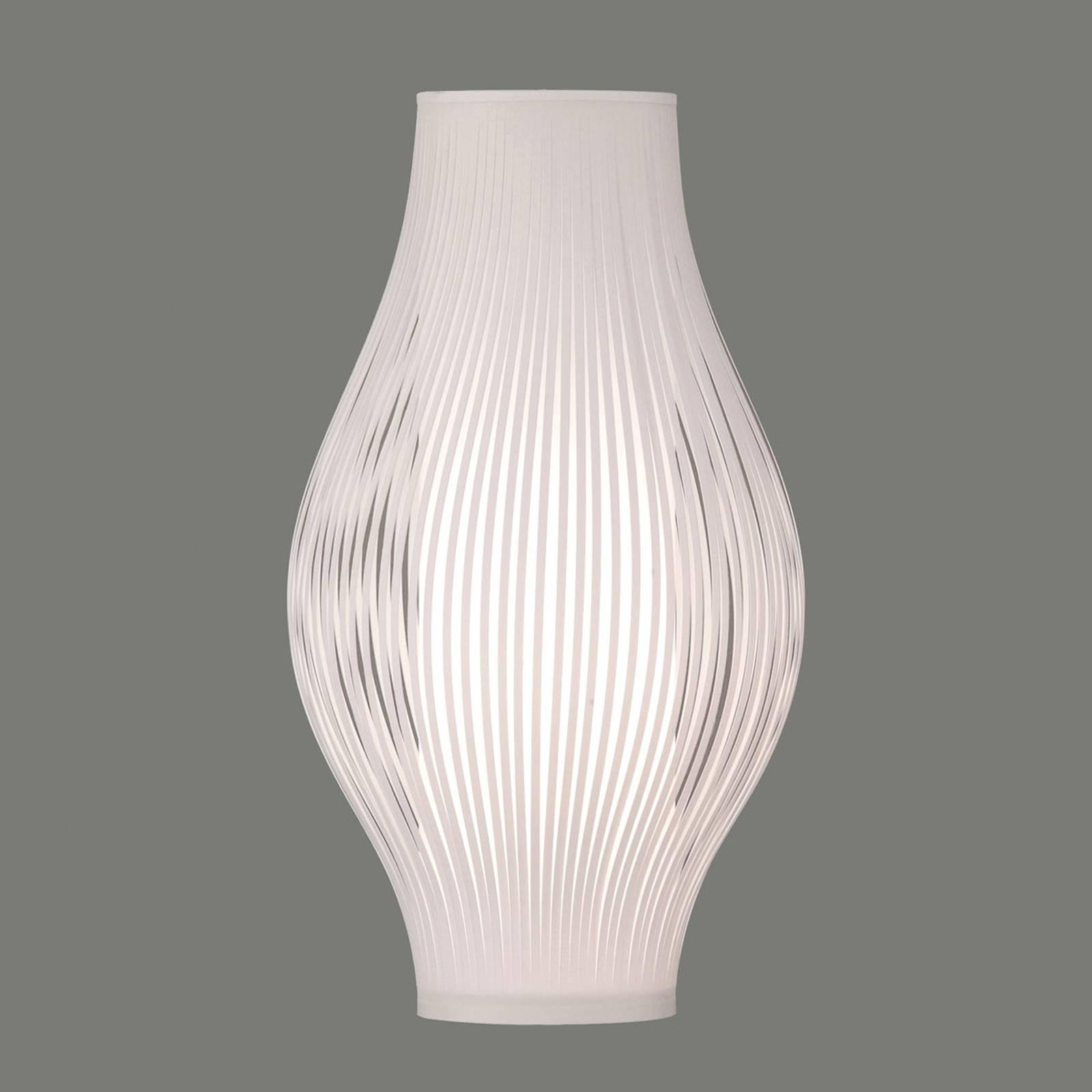 Tischleuchte Murta, 51 cm, weiß