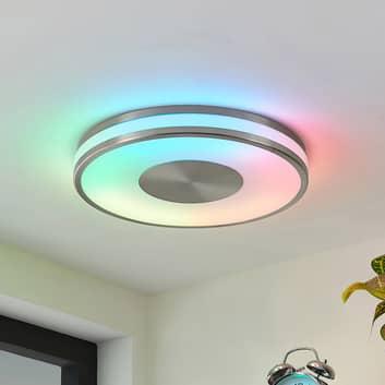 Lindby Fjella LED-Deckenlampe RGB-CCT-Farbwechsler