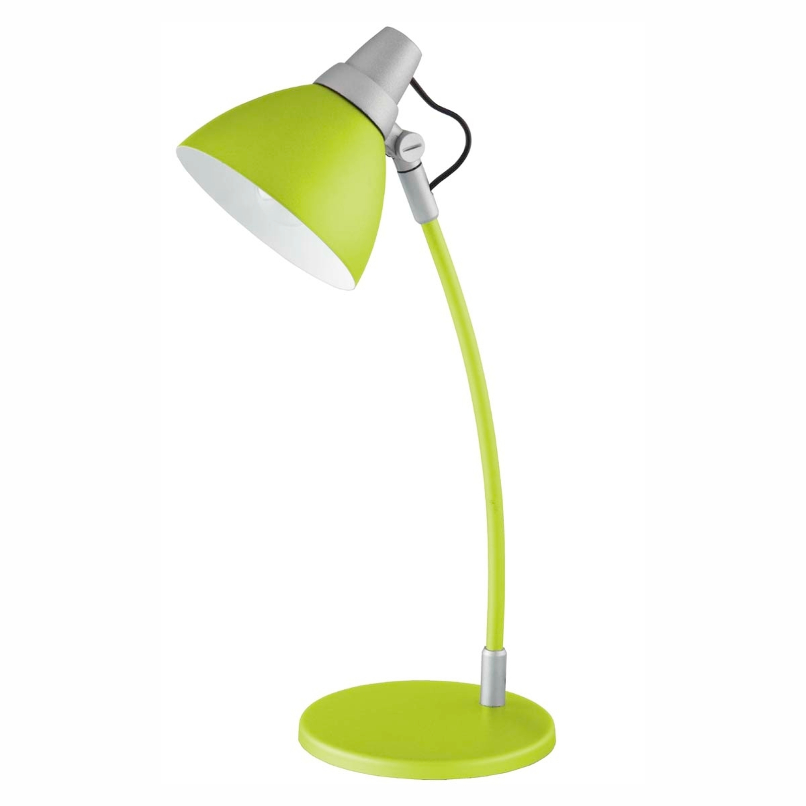 Barevná stolní lampa Onni zelená, se stojanem
