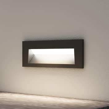 Arcchio Javis LED-innfellingslampe, glatt, svart