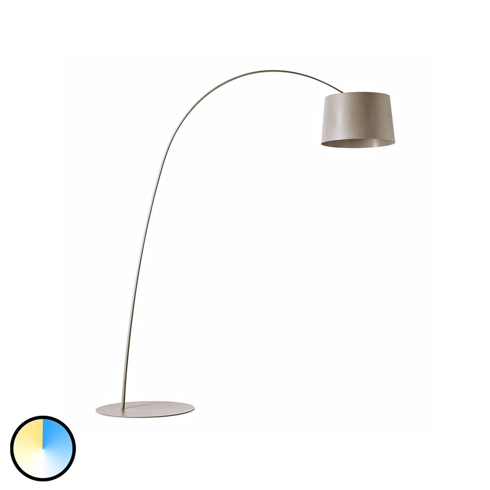 Foscarini MyLight Twiggy lampada LED arco greige