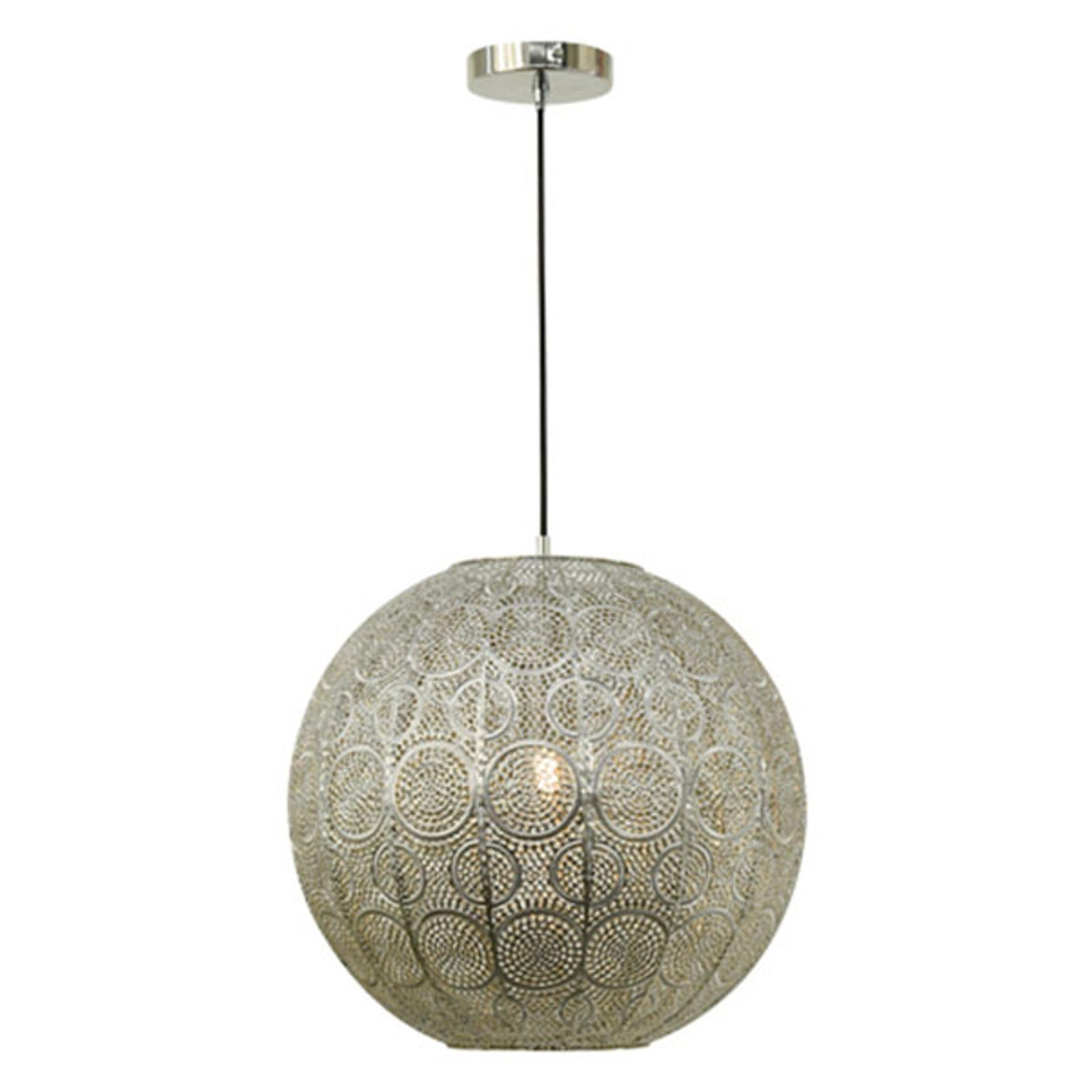 Lampa wisząca Stampa, kulista, Ø 40 cm