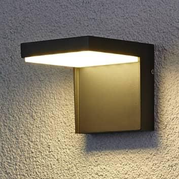 Moderne LED-Außenwandleuchte Rachel aus Aluminium