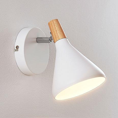 Estetyczny kinkiet LED Arina, biały