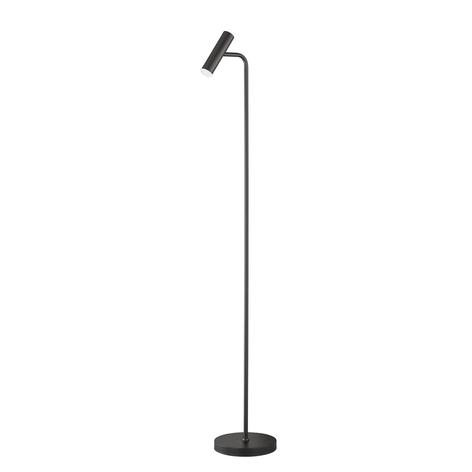 Schöner Wohnen Stina lampada LED da terra nero