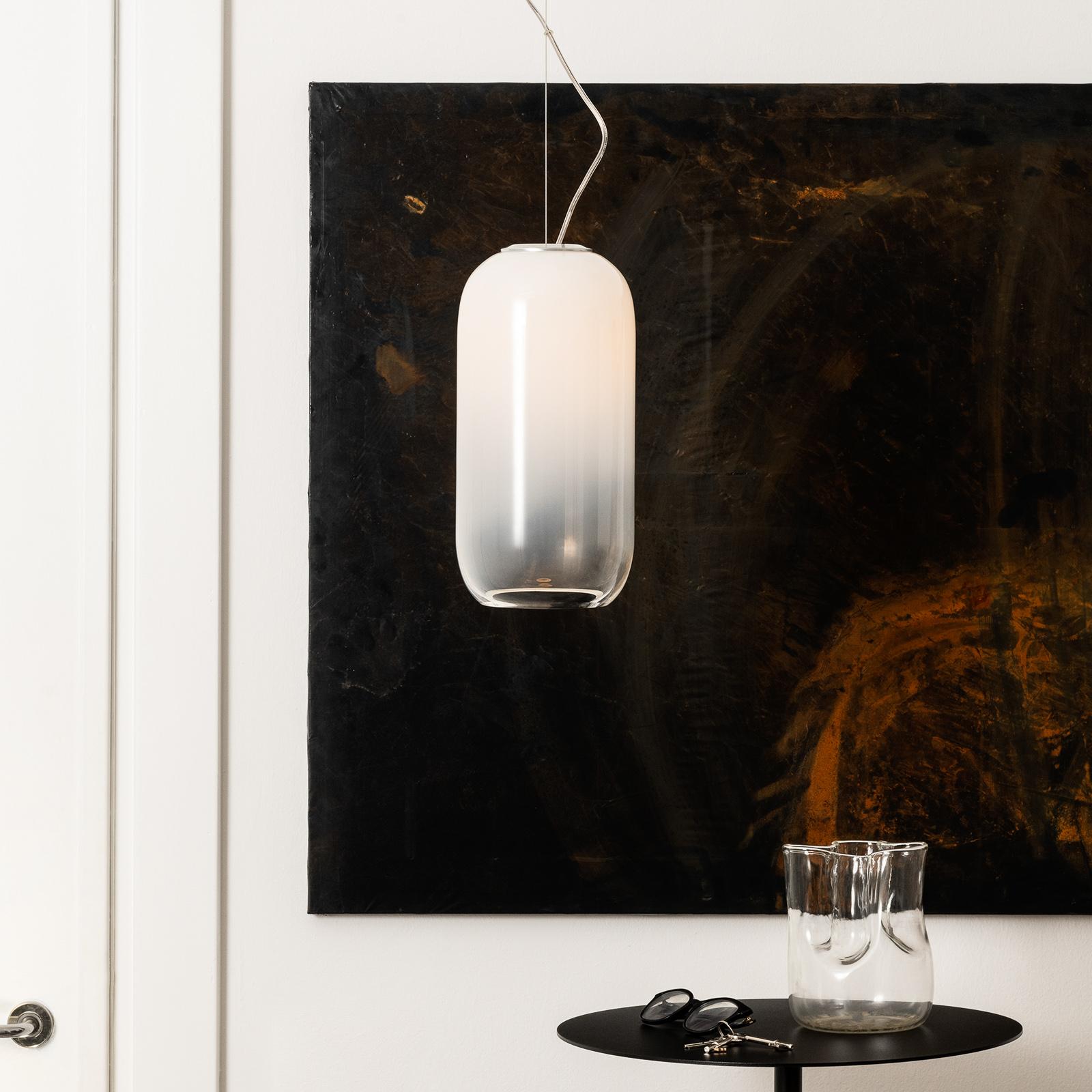 Artemide Gople pendellampe i glass, hvit