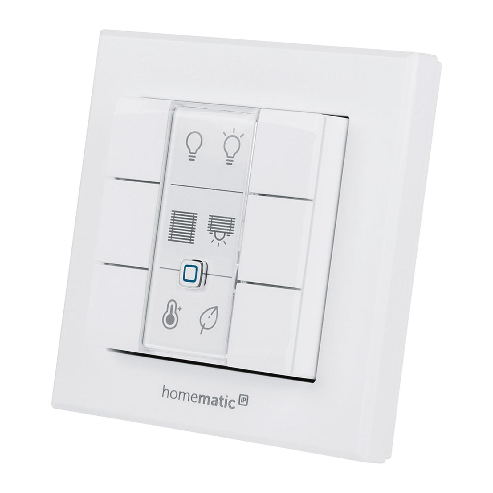 Homematic IP przycisk ścienny, 6-krotny
