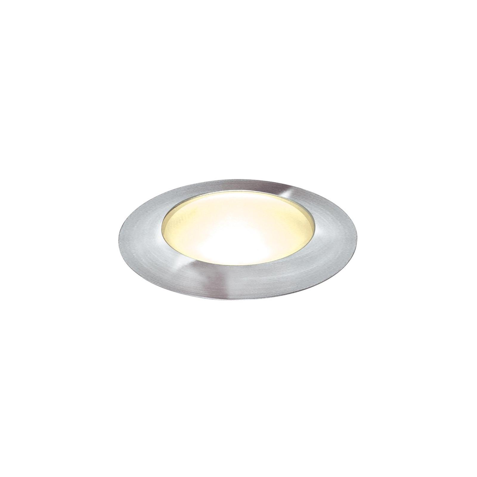 TRAIL LITE ROUND LED-jordspot med varmhvidt lys