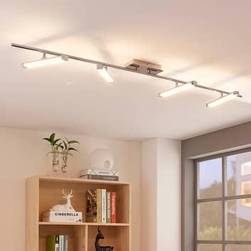 LED plafondlamp Pilou, 4 lampen, dimbaar