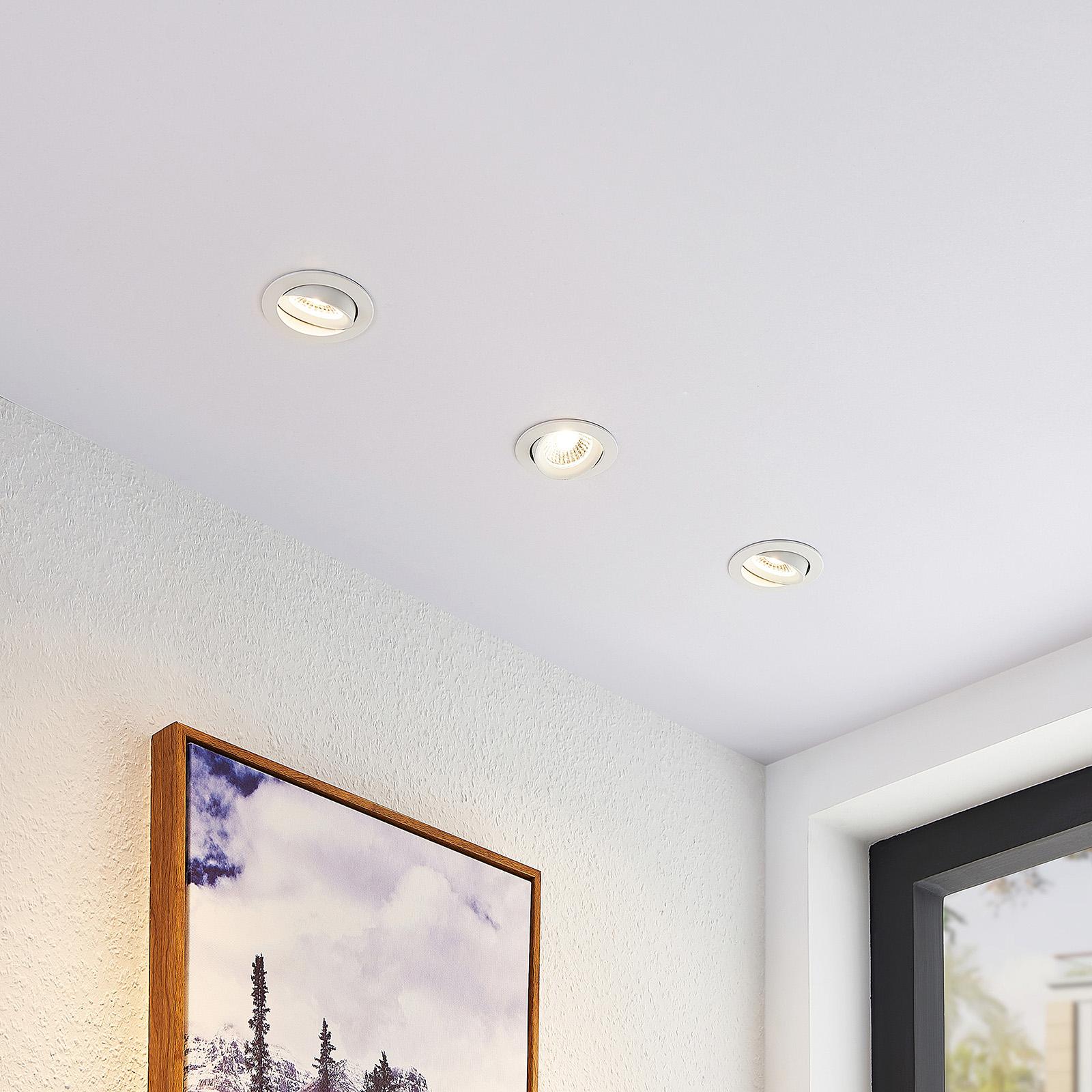 Arcchio Ozias Spot encastrable LED blanc, 4,2 W