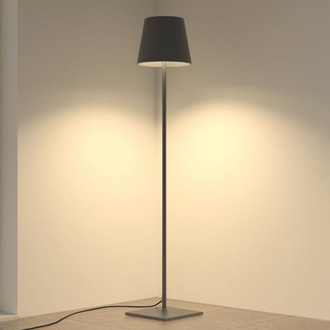 Lampa tarasowa Andrei, ciemnoszary klosz