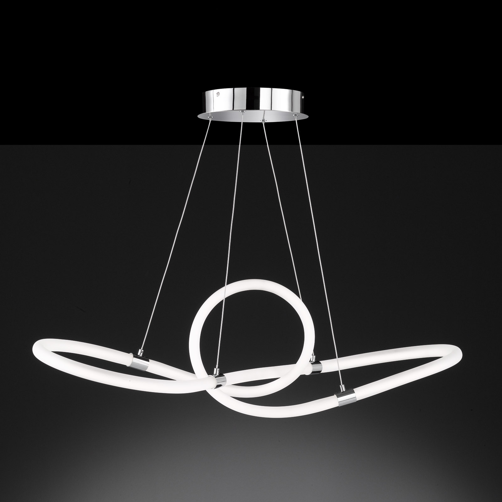 Lampa wisząca LED Mira z pilotem, 92,5x30,5cm