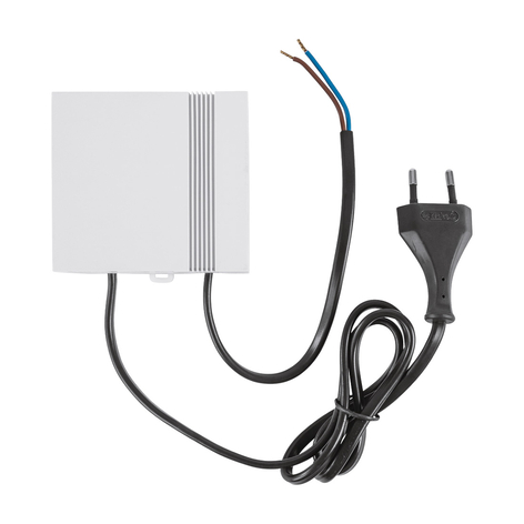 Homematic IP transformador actuadores suelo 24V