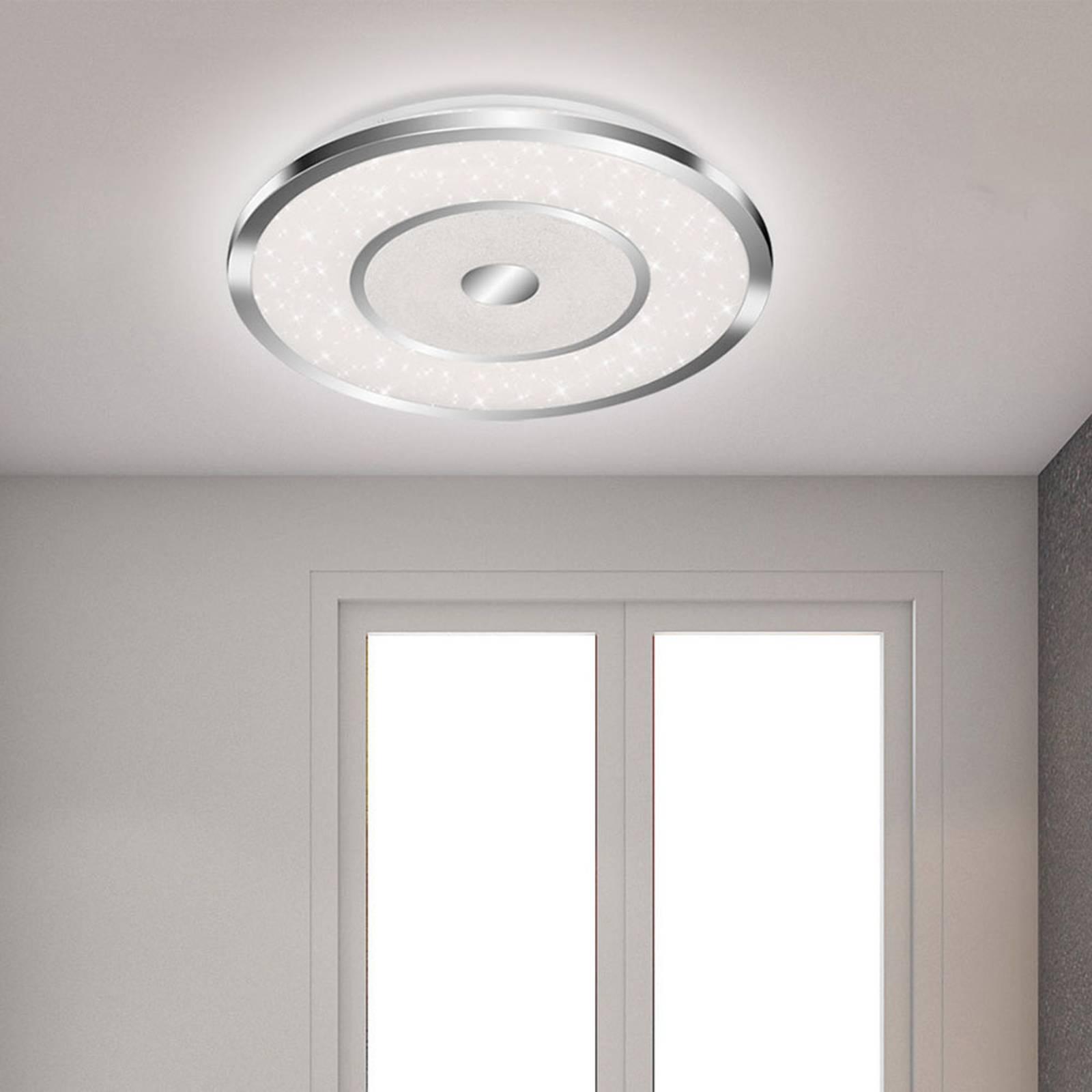 Lampa sufitowa LED Spaco CCT z pilotem