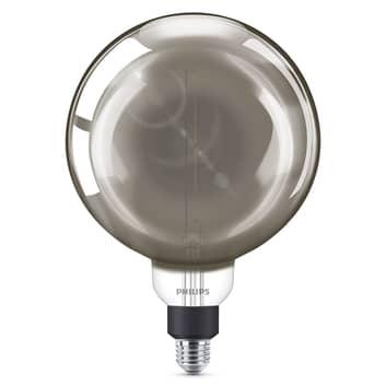 Philips E27 Giant LED-bollamp 6,5W dimbaar smoky
