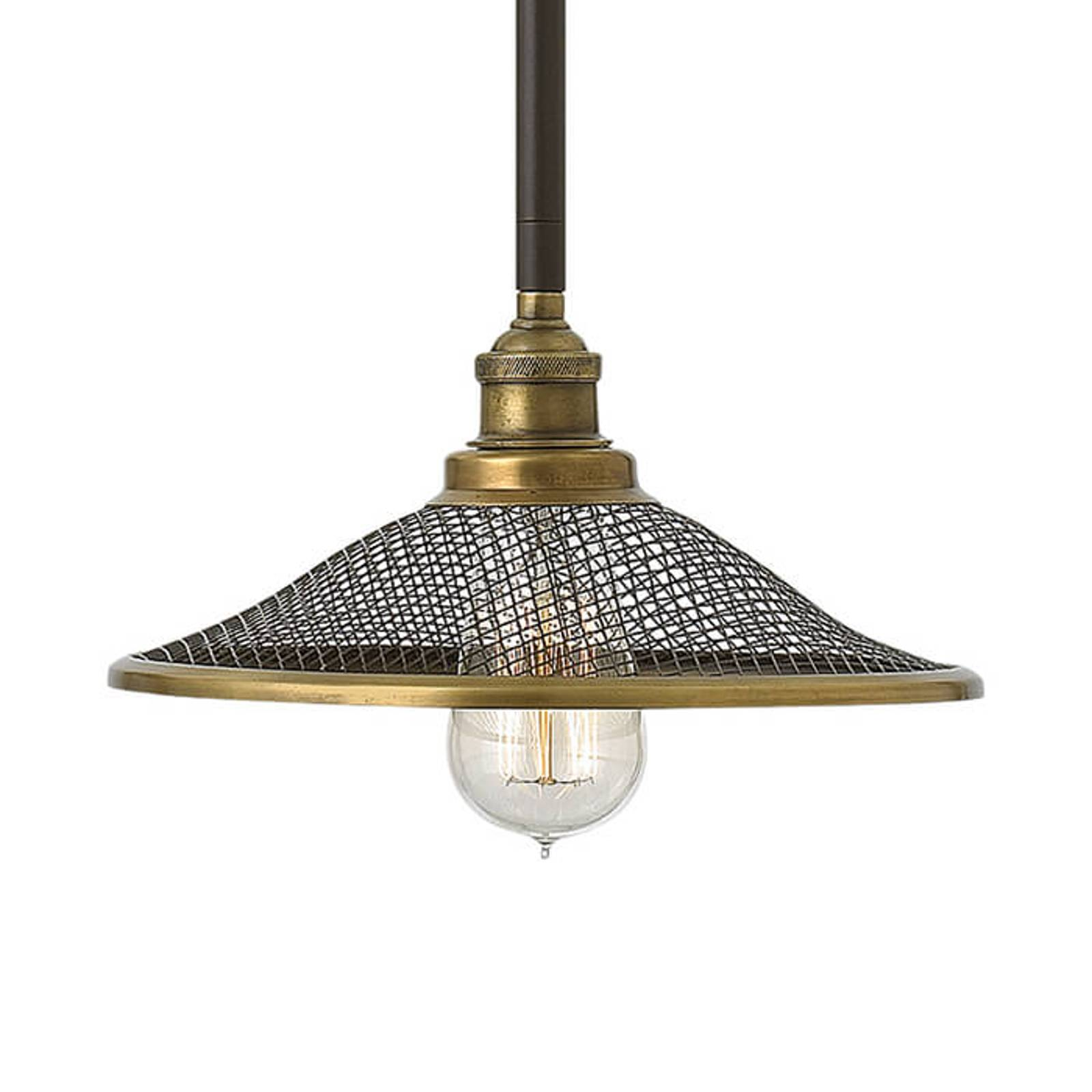 Charakterystyczna lampa wisząca Rigby