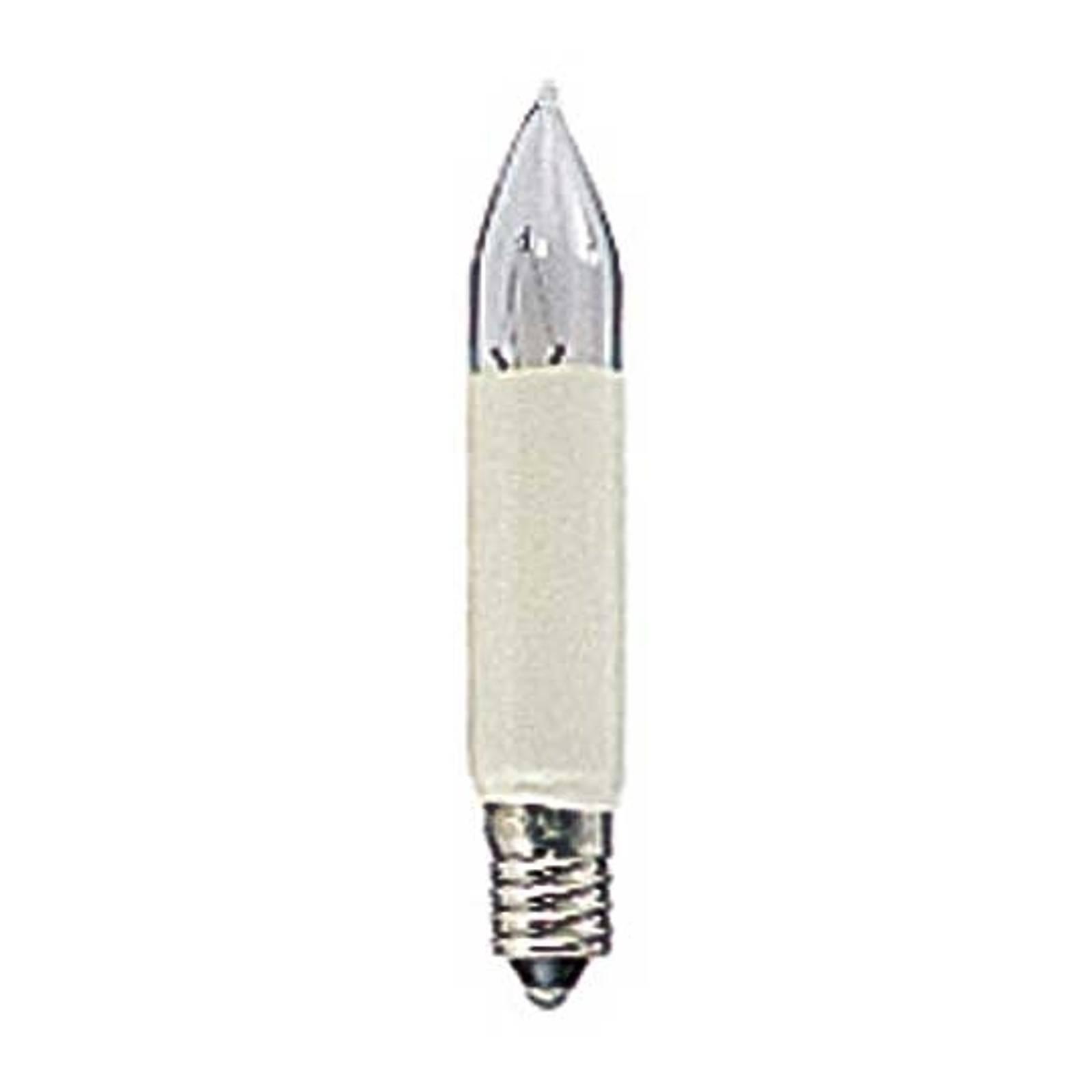 Image of Pack de 2 lampes à tige de rechange E10 3W 14V 07318301049028