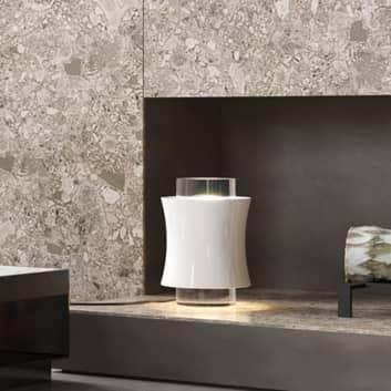 Prandina Fez T1 bordlampe med krystalglas