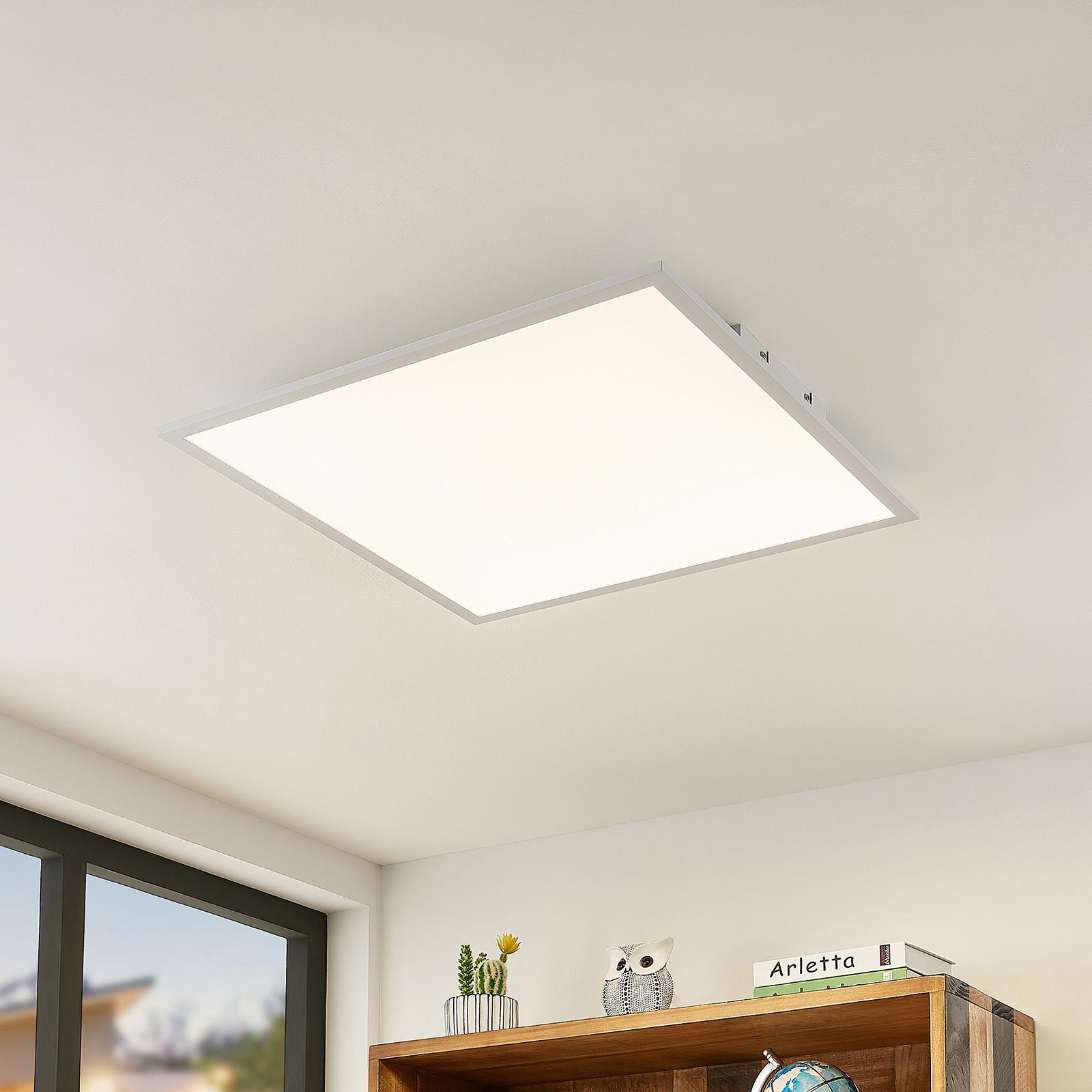 Lindby Quais panel LED 4000K, 60x60 cm
