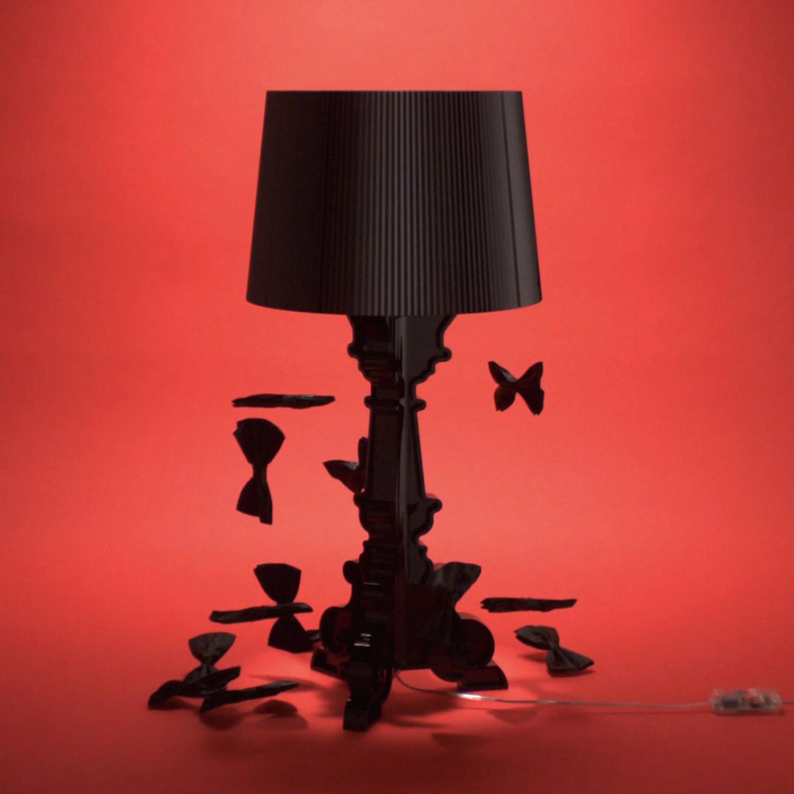 Kartell Bourgie lampe à poser LED noire