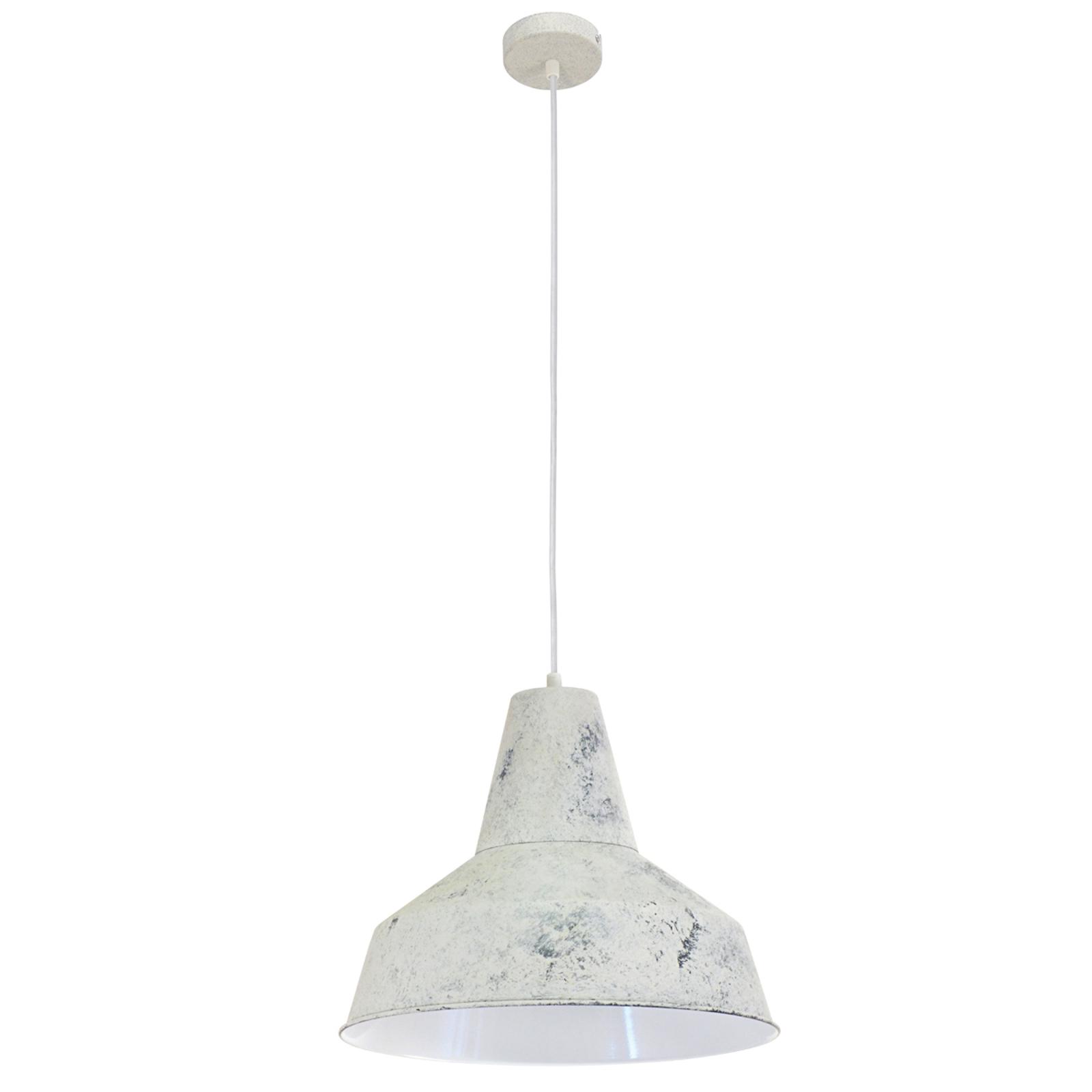 So širokým tienidlom – závesná lampa Berenice