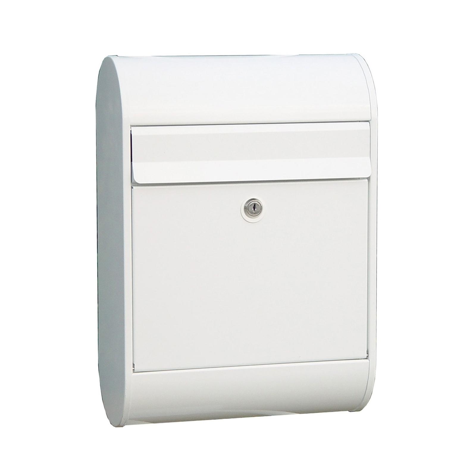 Lekker postkasse 5000, hvit