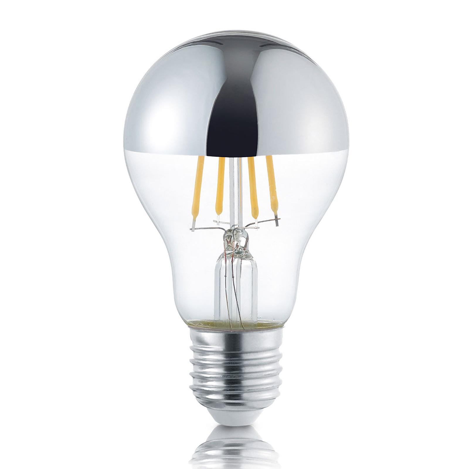 Topforspejlet LED-pære E27 4 W, varmhvid