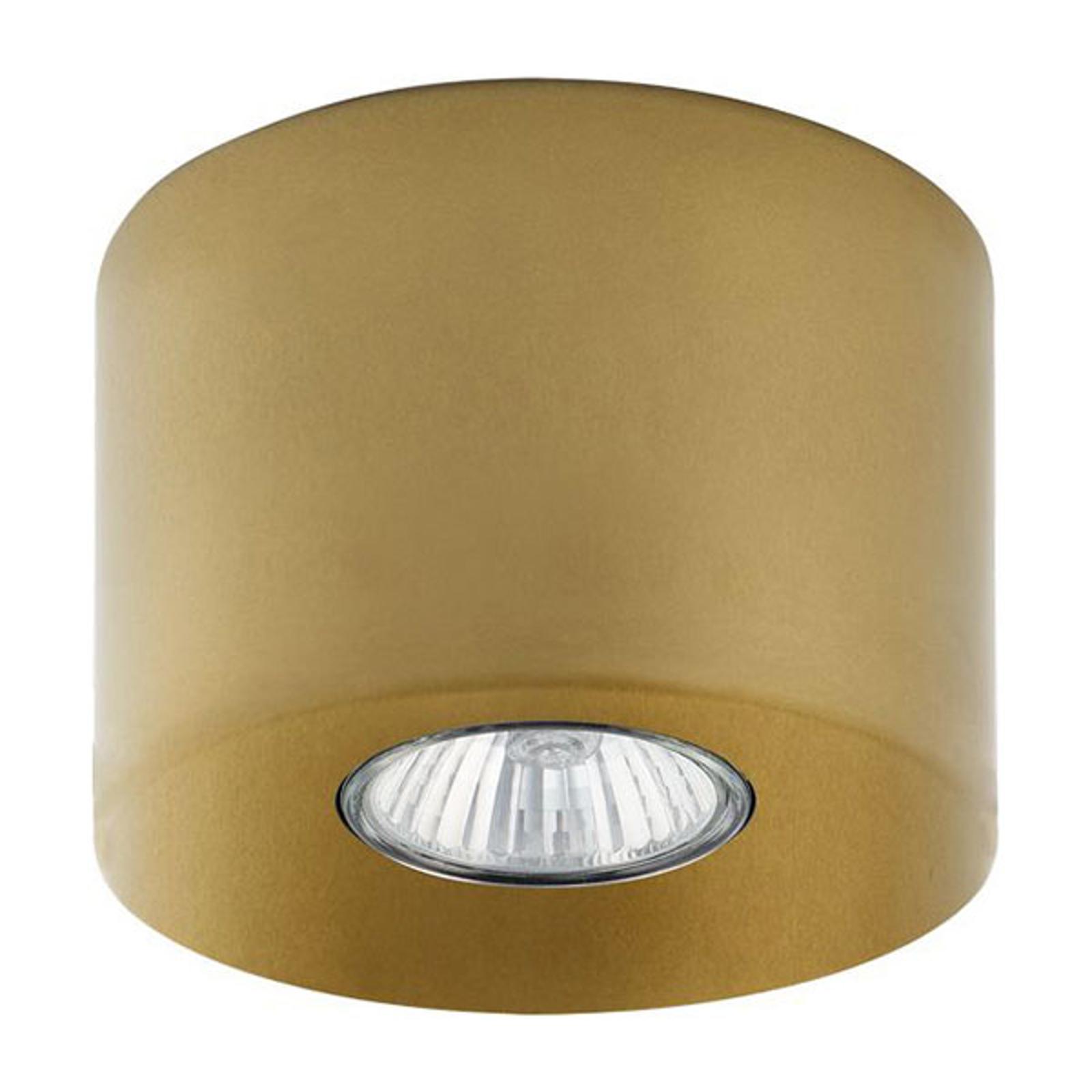 Downlight Orion rund, gold, 8,5 cm