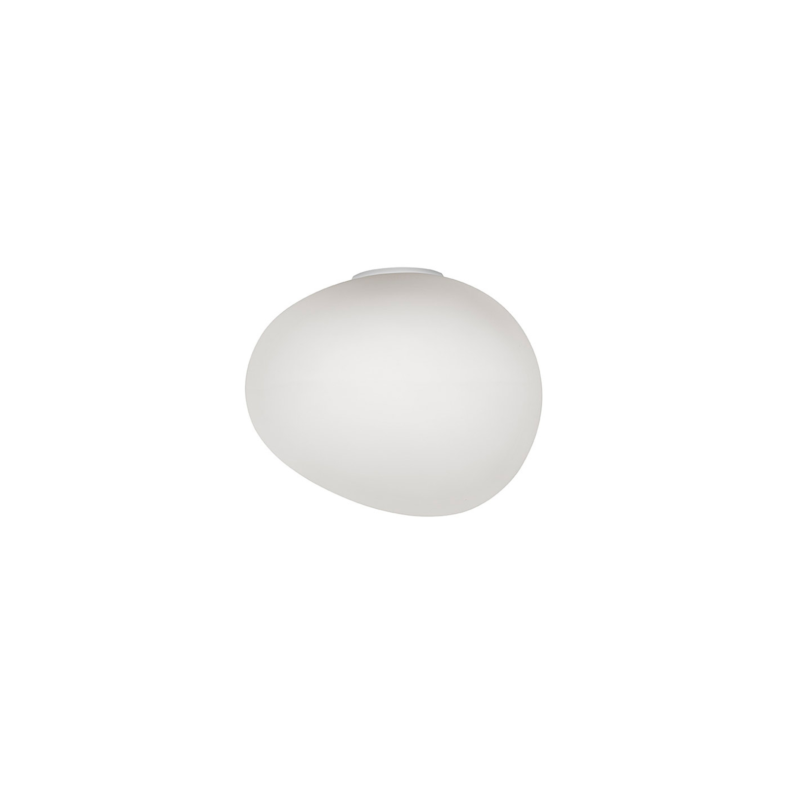 Foscarini Gregg media semi 1 applique, blanche