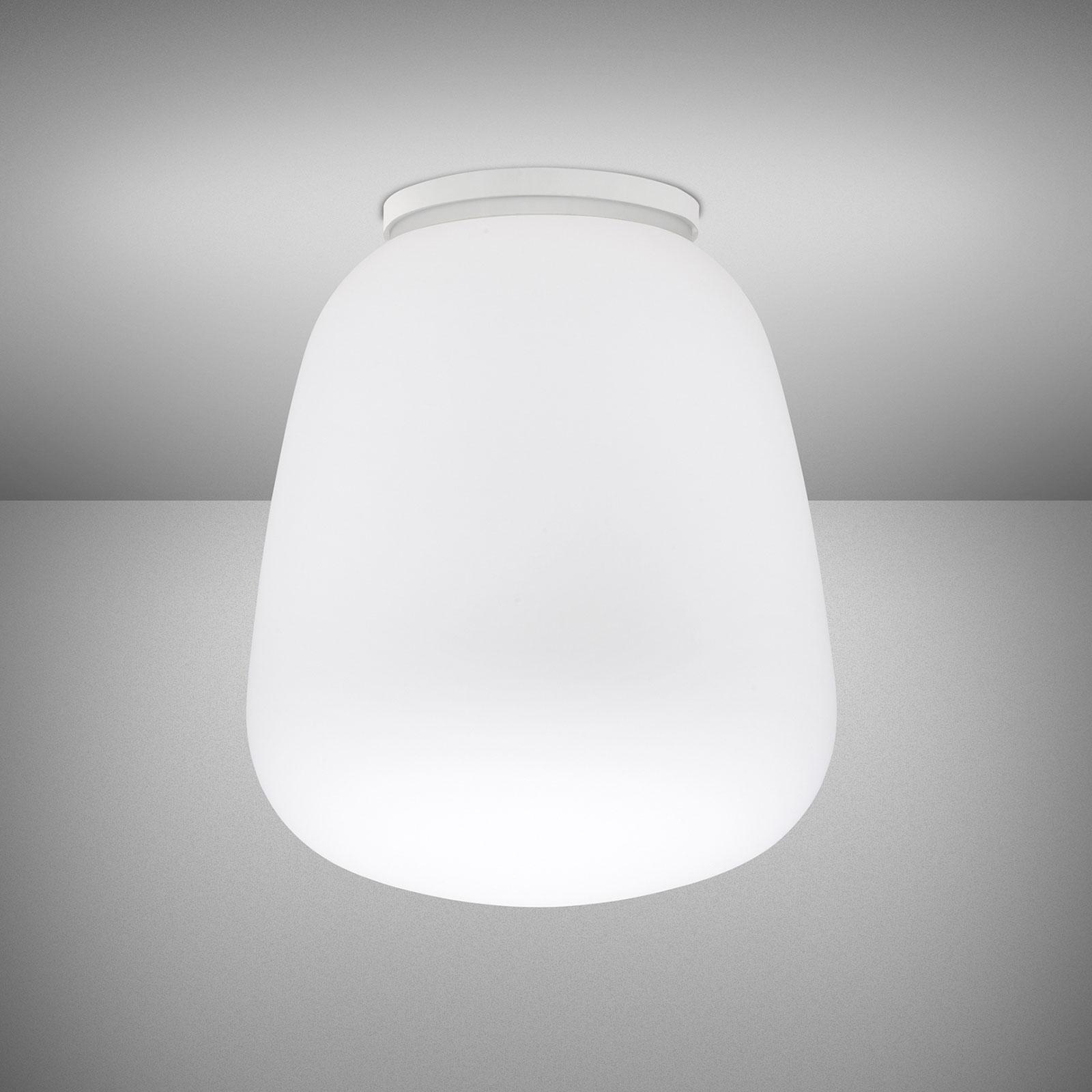 Fabbian Lumi Baka szklana lampa sufitowa, Ø 33 cm