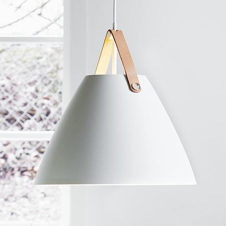 Skórzane zawieszenie – lampa wisząca LED Strap 36