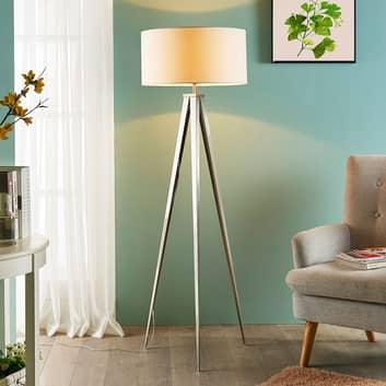 Trójnożna lampa stojąca Benik, piękny kształt