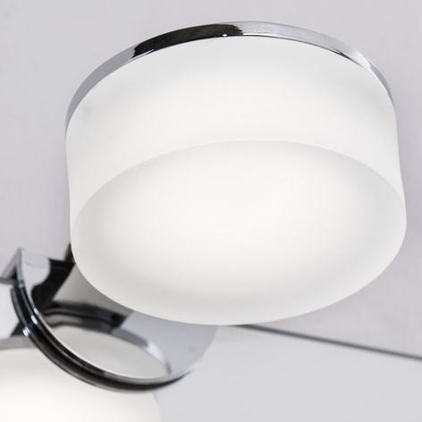 LED-Spiegelaufsteckleuchte Noah, IP44, rund