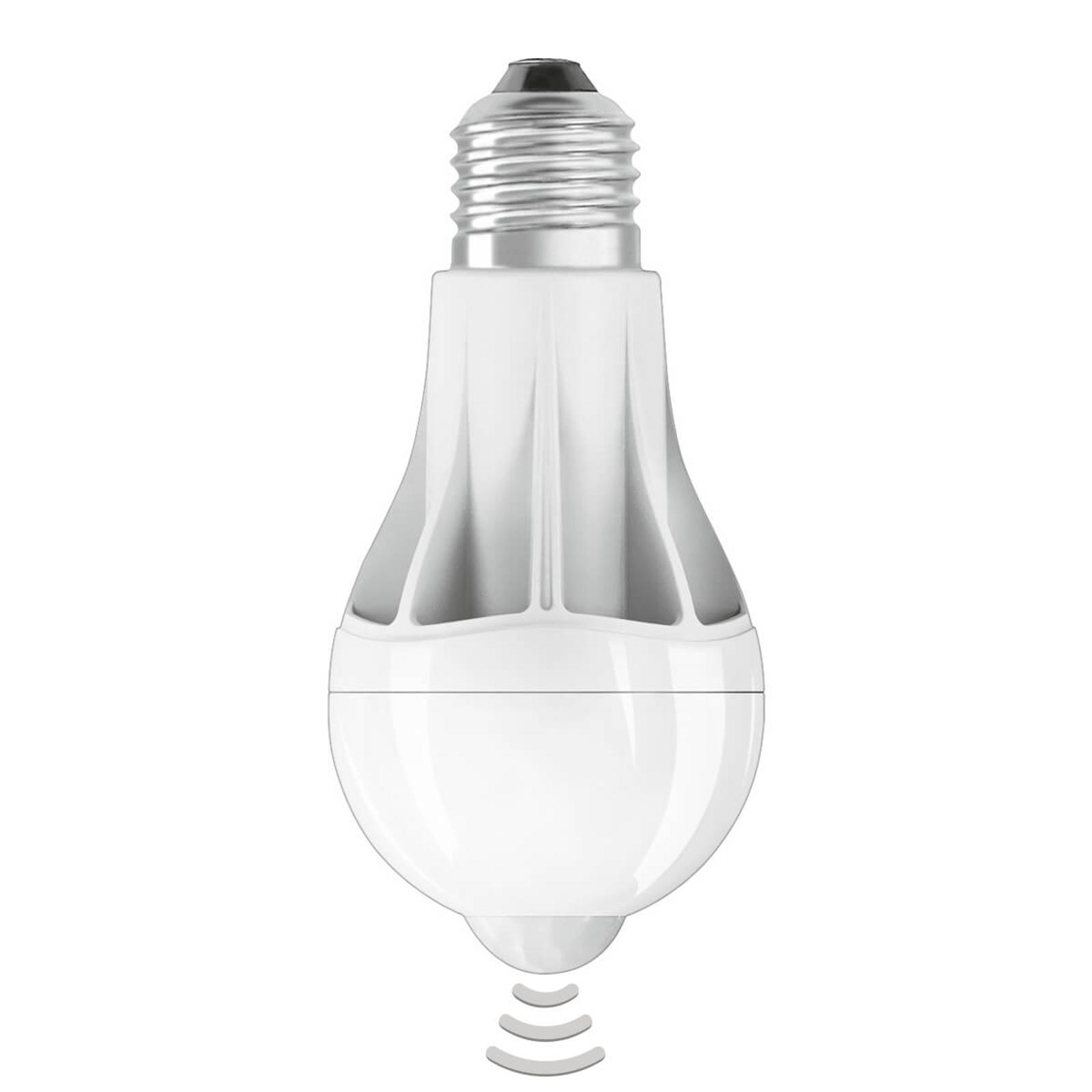 E27 11W 2 700K LED-pære med bevegelsessensor
